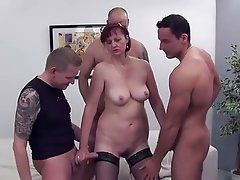 best of Woman gangbang old