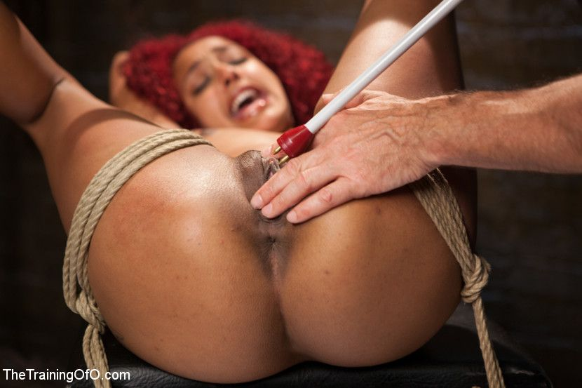 Rough pegging bondage