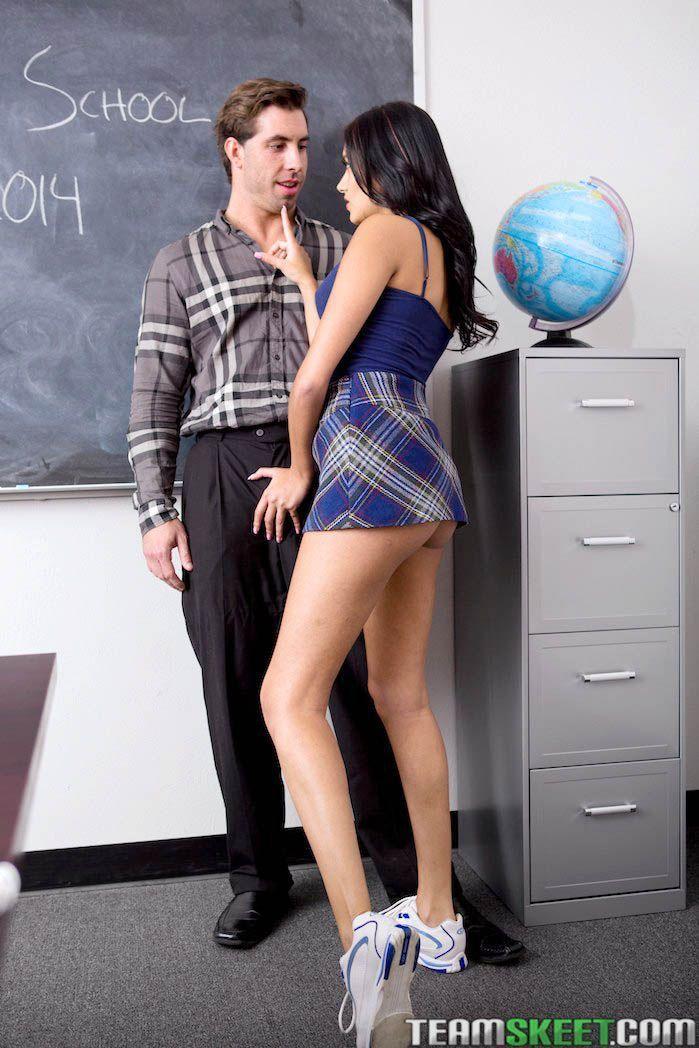 Schoolgirls nude fucking teacher