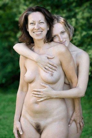 Naked mom daughter I slept
