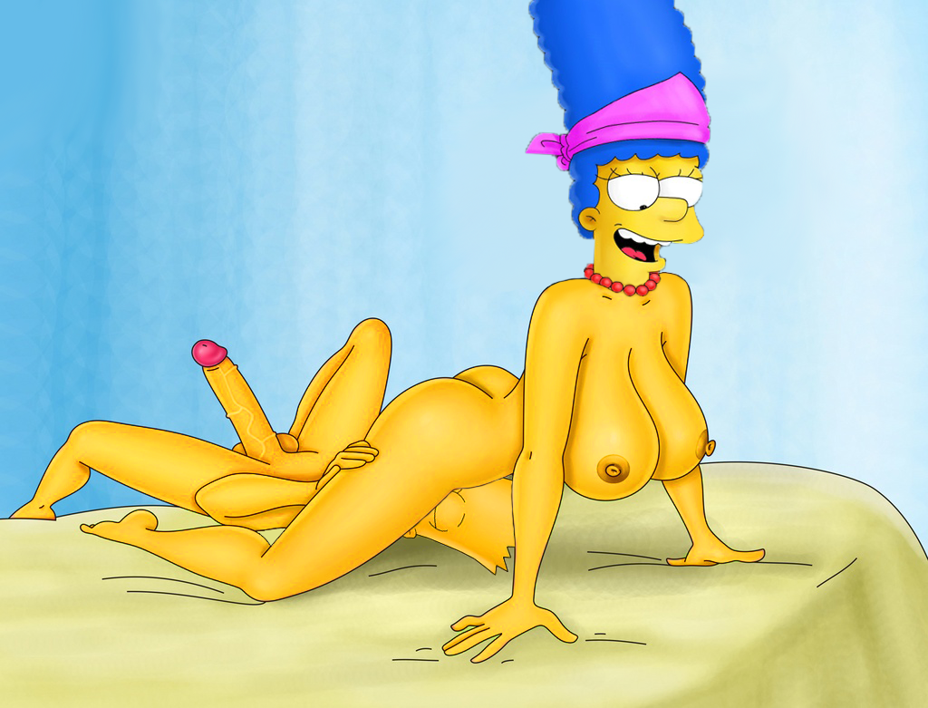 Stockings in marge nackt simpsons Bart