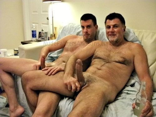 Nude Daddy Porn - Nude daddy and son jerking off - XXX top pics Free.