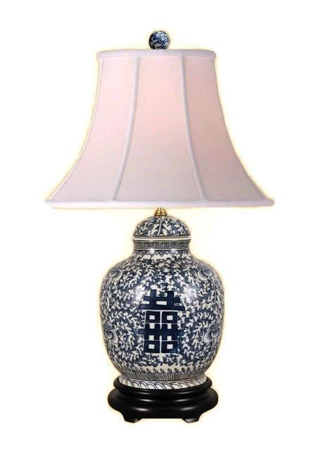 best of Porcelain Asian lamps style