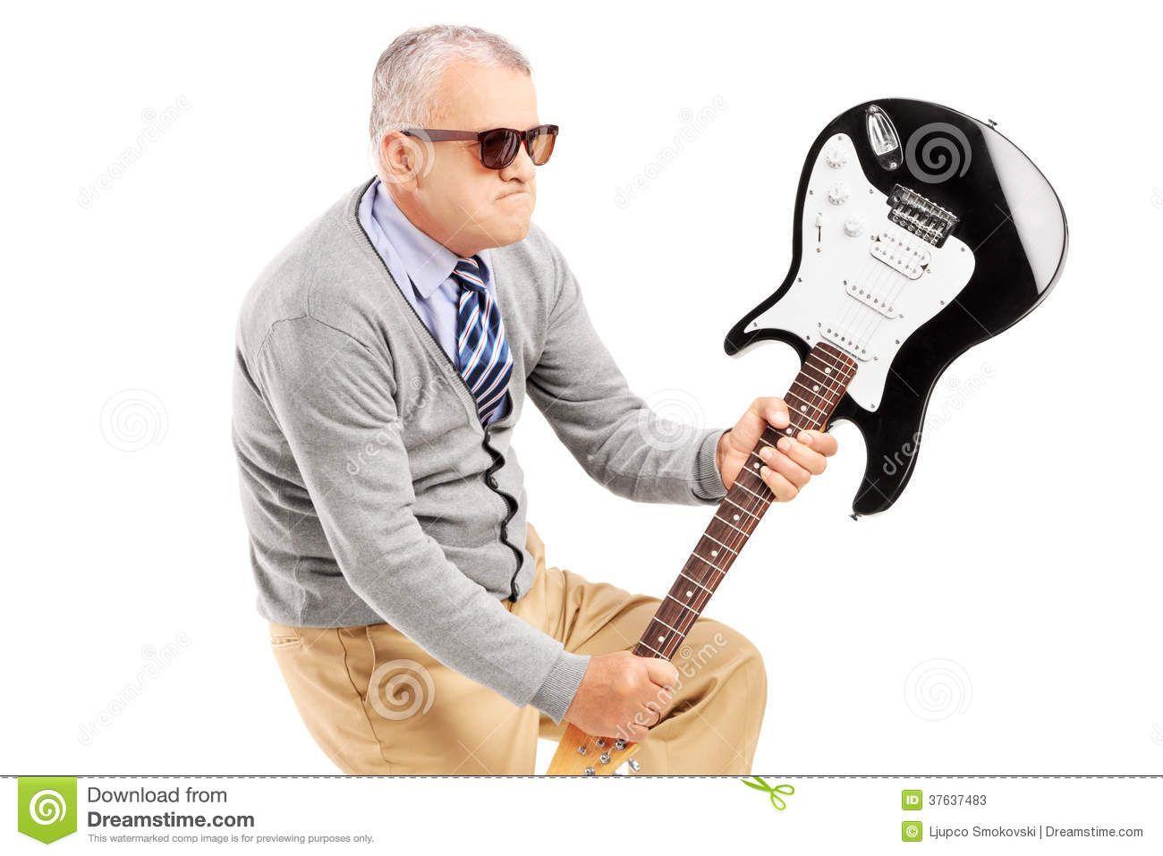 Ribbie reccomend Mature electric guitar