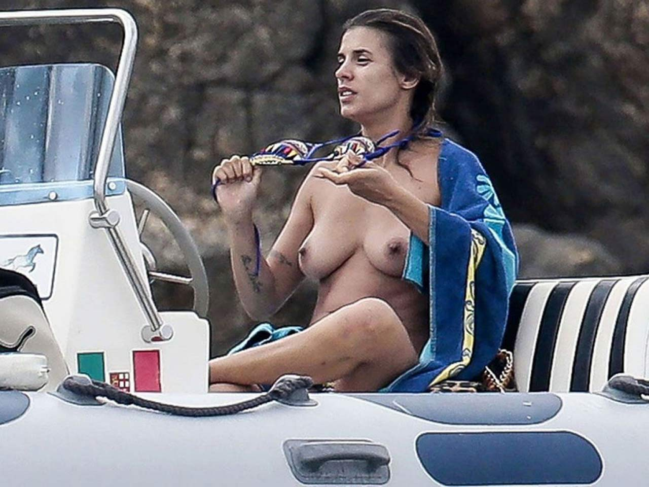 Celebrity fucking elisabetta canalis italian was
