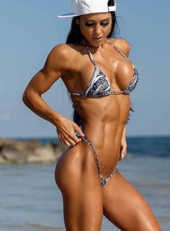 Twizzler reccomend Bikini muscle girls