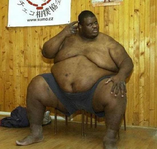 Crusher reccomend Old fat black man