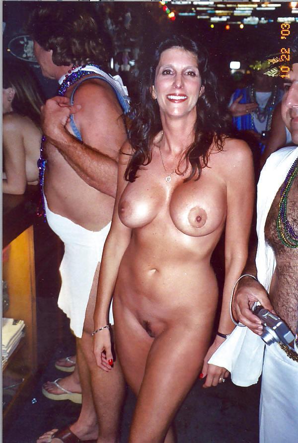 Big tits nude in cars