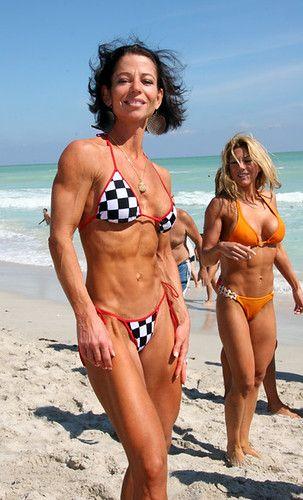 Bikini muscle girls