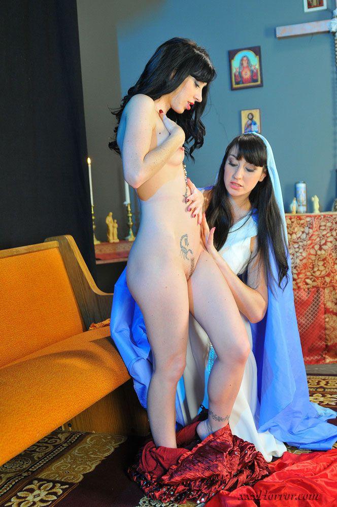 Naked girls woman