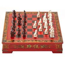 Southpaw reccomend 32 antique asian chess chinese style wooden