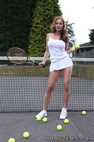Belly reccomend Hot tennis milf