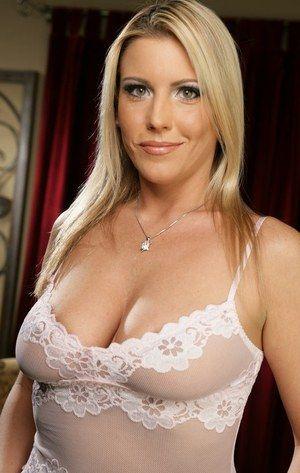 Naked blond porno star
