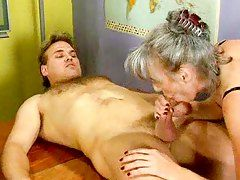 best of Granny video free Busty anal