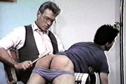 Naked daddy spanks son nude photos