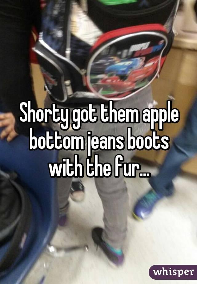 Porn jeans apple bottom