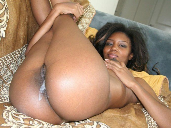 Black meat on latin pussy