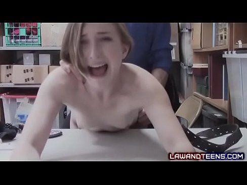 Cum in gaping hole