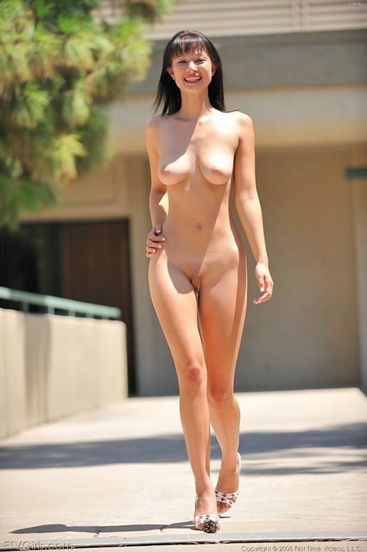 Naked sexy asian public