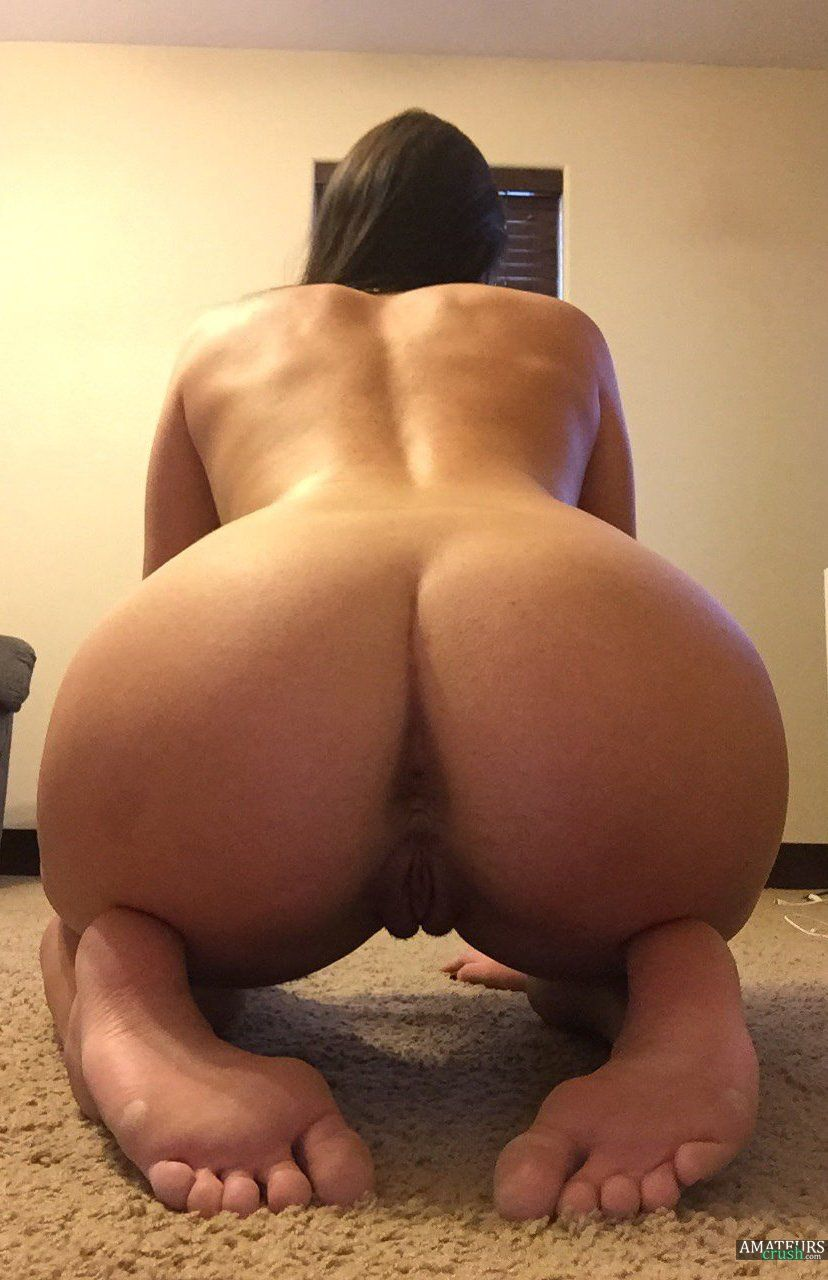 Bend over naked
