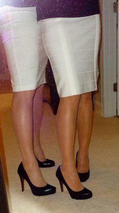 Longest legged model tiffany tailor